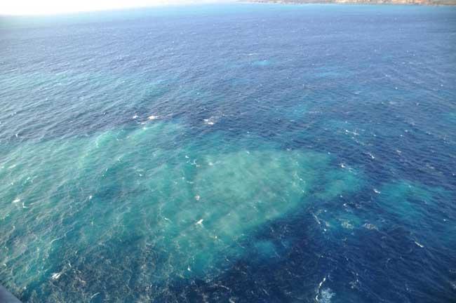 manchas en el Mar de las Calmas 23-11-2011