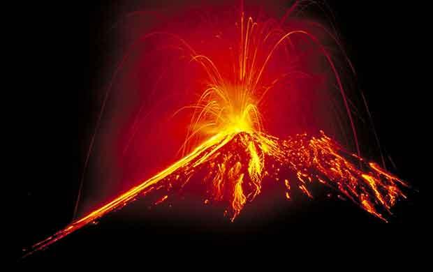 erupción volcánica masiva