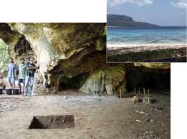 refugio prehistórico de Jerimalai, Timor