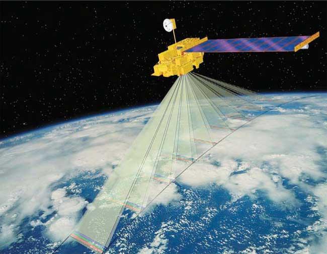 satélite Terra de la NASA