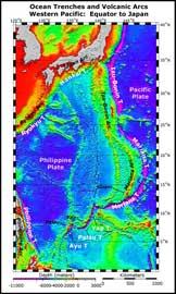 altimetría de las placas en Japón