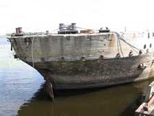 barco de hormigón