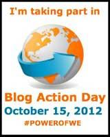 """Blog Action Day """"Power of We"""" (El poder de nosotras y nosotros)."""