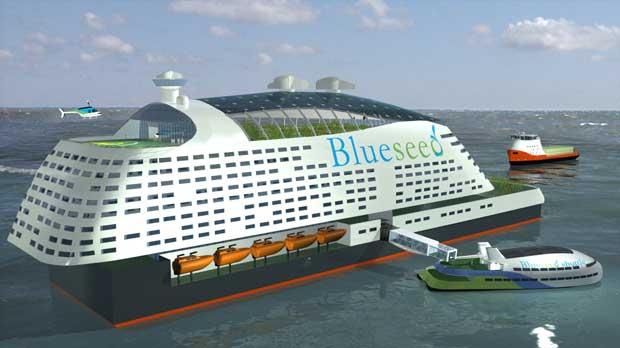 Blueseed, oficinas flotantes para empresarios