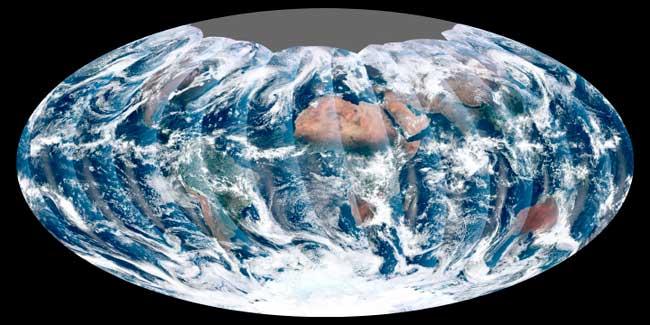 imagen global completa del VIIRS