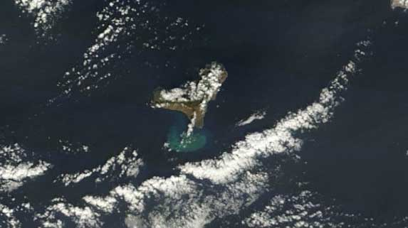 mancha erupción El Hierro, Terra 12-12-2011