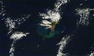 mancha erupción El Hierro, Terra 14-12-2011