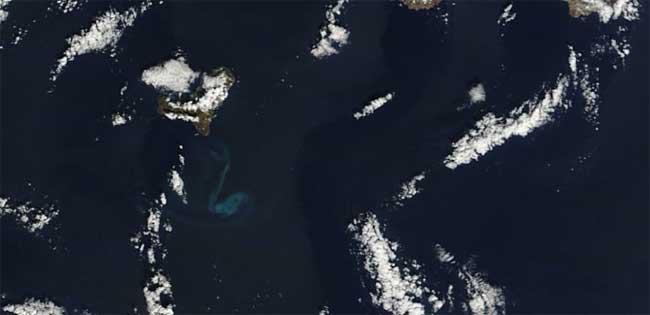 mancha erupción El Hierro, Terra 19-12-2011