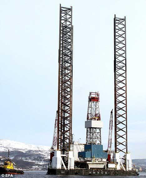 plataforma petrolera Kolskaya