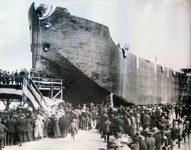 S.S. Faith un barco de hormigón
