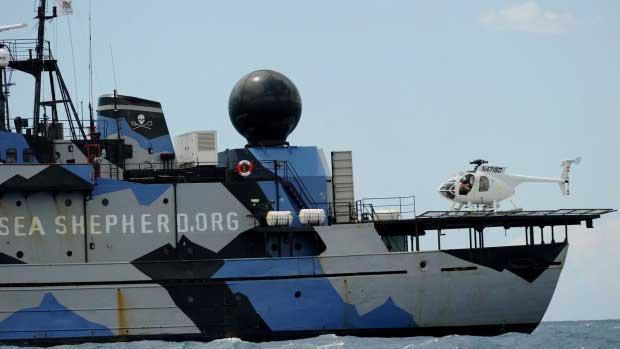 buque Steve Irwin de Sea Shepherd, 2011