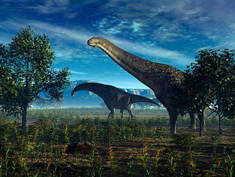 titanosaurios