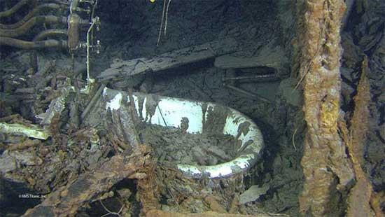 bañera del capitán del Titanic