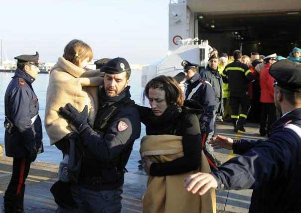 crucero Costa Concordia, pasajeros
