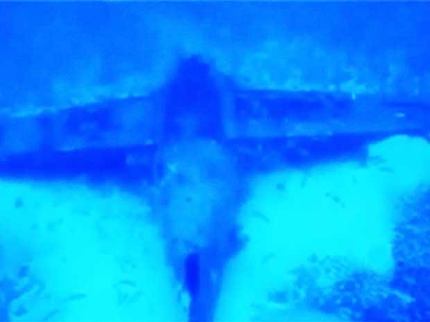 Curtiss Helldiver SB2C hundido en Florida