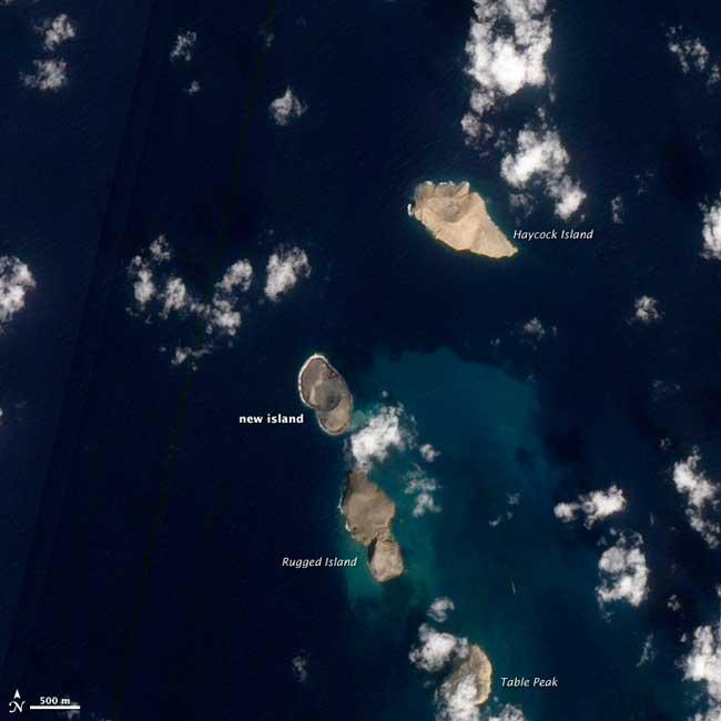 nueva isla en el Mar Rojo 15-01-2012