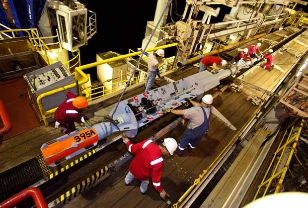 preparación de un laboratorio submarino CORK