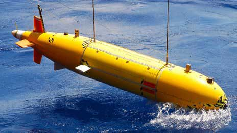 robot submarino Autosub6000
