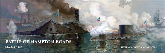 batalla de Hampton Roads