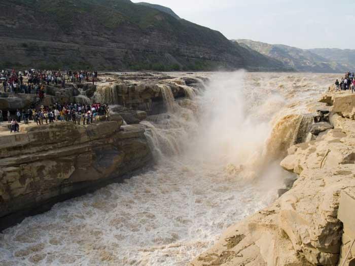 catarata de Hukou en China