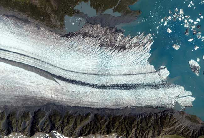 glaciar Bear en Alaska