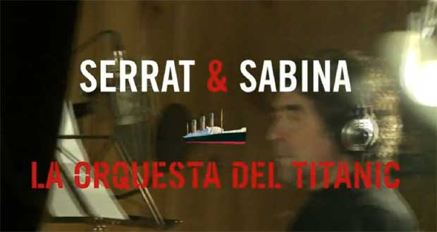 La Orquesta del Titanic, disco de Serrat y Sabina