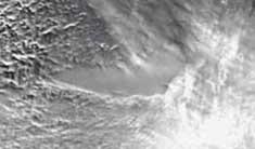 lago Vostok Antártida desde satélite