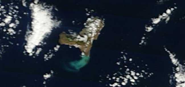 mancha erupción El Hierro, Terra 02-02-2012
