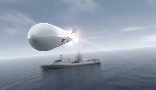 misil Sea Ceptor, Mach 3
