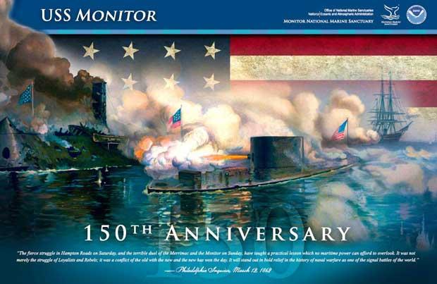 poster NOAA USS Monitor