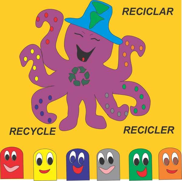 Personaje Pulpirecicla