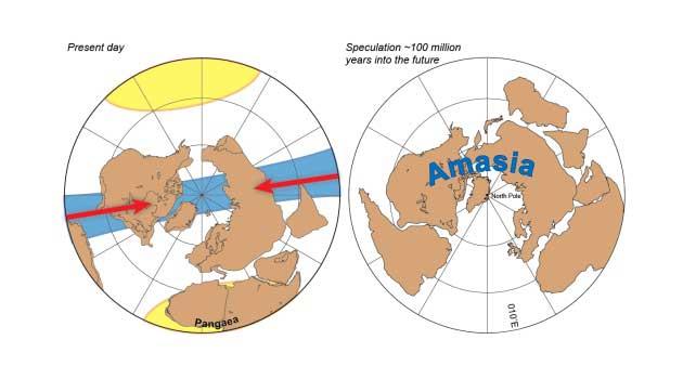 supercontinente Amasia