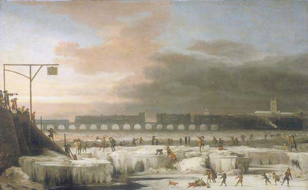 río Támesis congelado