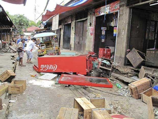 terremoto Filipinas febrero 2012