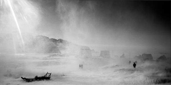 trineo en la tormenta, Ragnar Axelsson