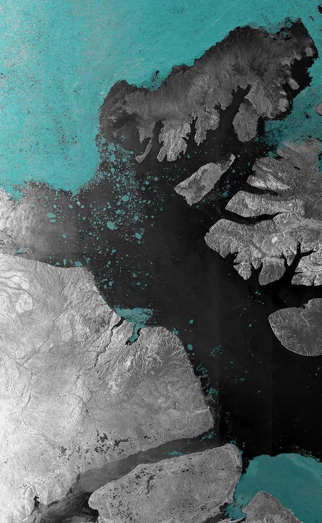 estrecho de McClure Canadá - Paso del Noroeste