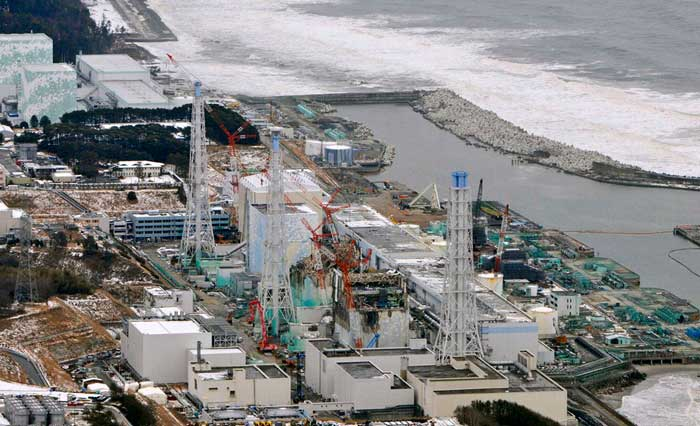 centrasl nuclear Fukihisma Daiichi, ahora