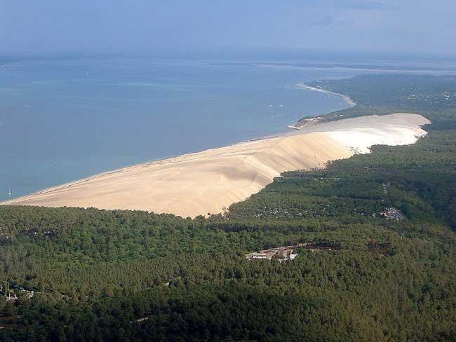 gran duna de Pilat, Francia