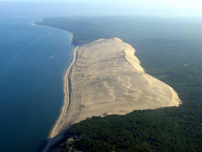 gran duna de Pyla, Francia