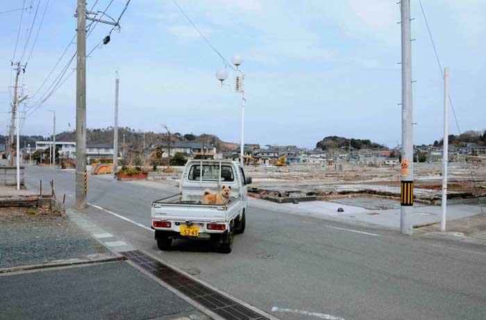 calle de Iwaki, ahora