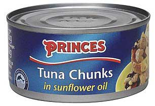 lata de atún Princes