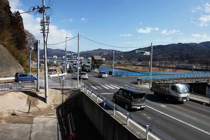 una calle de Miyako, ahora