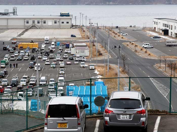 puerto de Miyako, ahora
