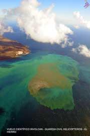 poster erupción submarian de El Hierro frente a La Restinga