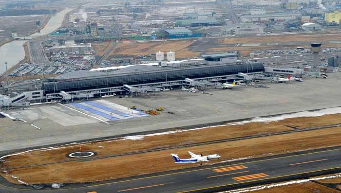 aeropuerto de Sendai, ahora