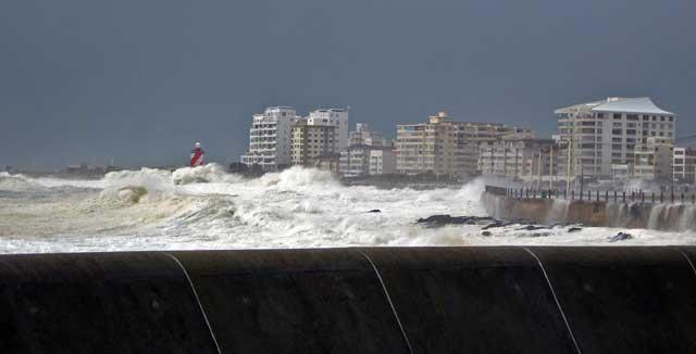 tormenta en Ciudad del Cabo, 2008