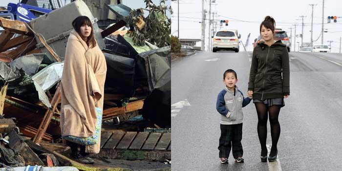 Yuko Sugimoto tsunami 2011 Japón en Ishinomaki