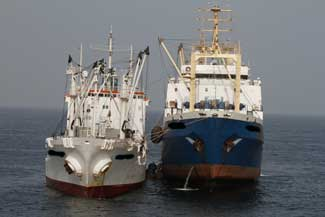 buques de pesca ilegal