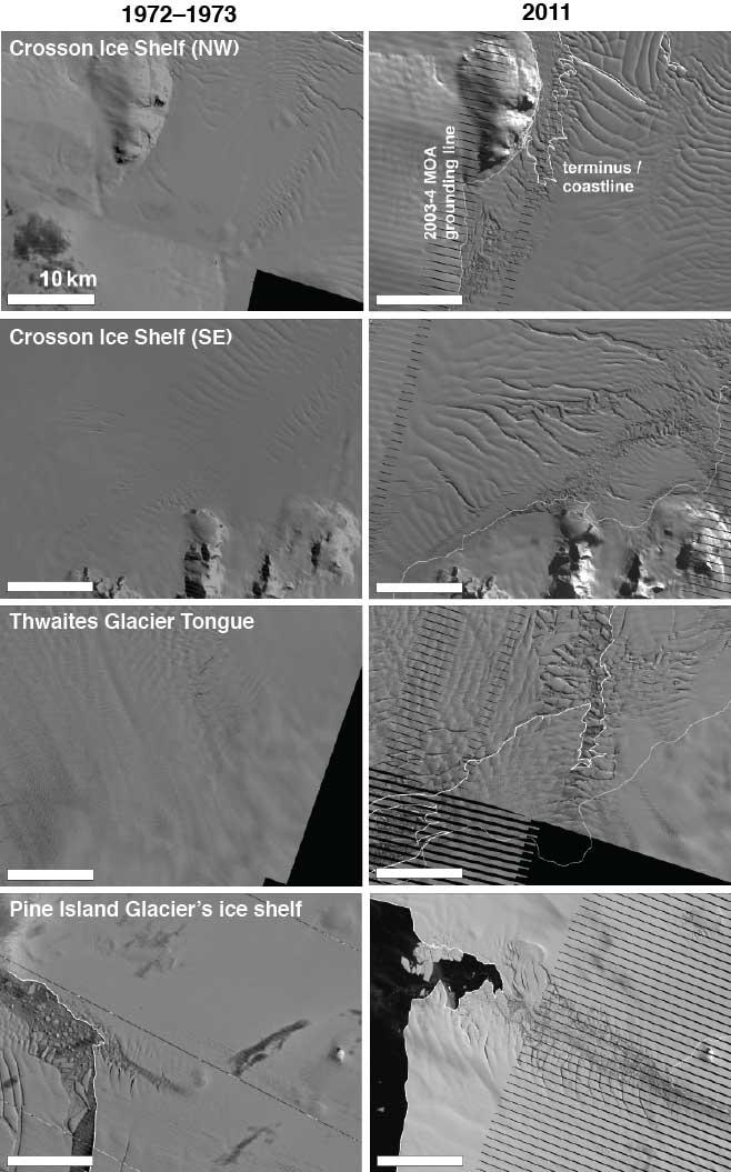 cambios en el hielo marino del Mar de Amundsen