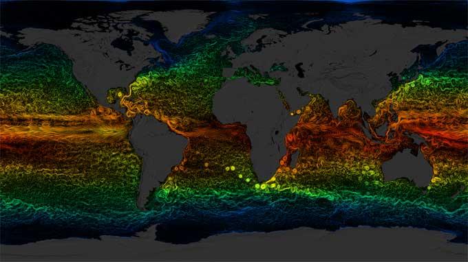 corrientes marinas globales